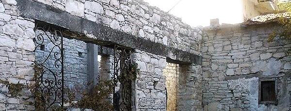 Традиционная кипрская архитектура - Агиос Георгиос, Кипр.