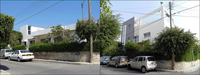 Reconstruction with full planning and building permission by adding two additional floors in a private house in Limassol, Cyprus.
