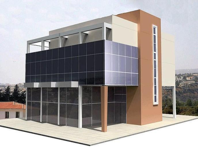 Eleni Misou Building in Limassol, Cyprus.