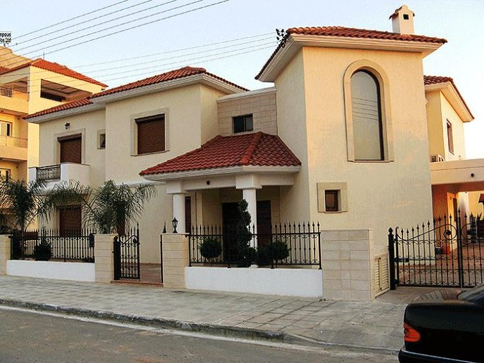 Classic style in a private house in Limassol, Cyprus.