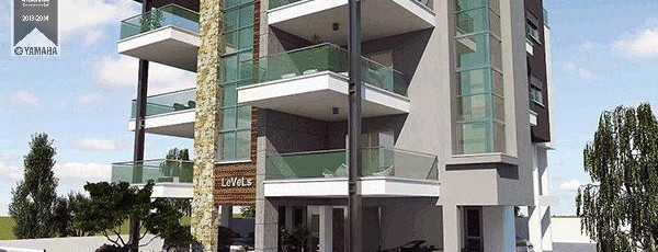 Modern architecture in apartment building – LeVeLs, awarded Best Apartment Cyprus for 2013-2014.