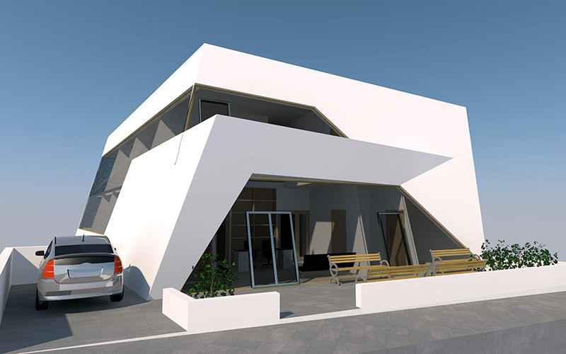 Impressive architecture for a clinic in Paphos, Cyprus